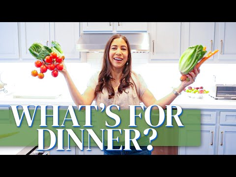6 Vegetarian Dinner Ideas | Meatless Meals | What's for Dinner?