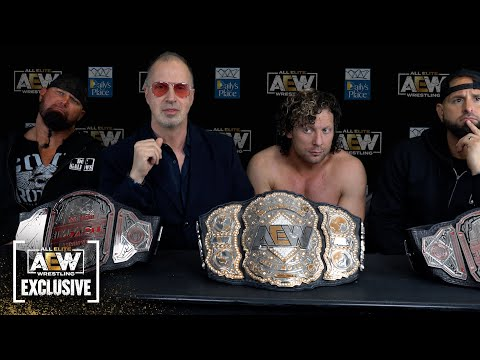 After the Falls Count Anywhere match Omega, Callis & Good Bros clear the air on Bullet Club & More