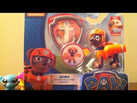 Play-Doh My Little Pony And Littlest Pet Shop Surprises Zuma PAW Patrol Pup Reveiw