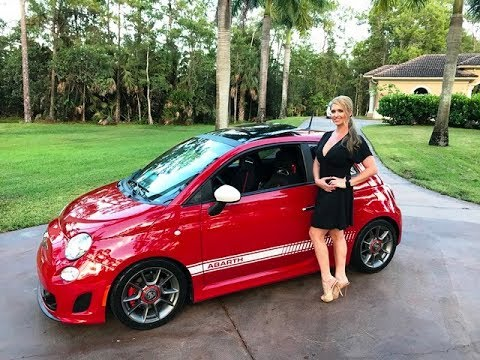 SOLD 2013 Fiat 500 Abarth, only 19200 Miles, for sale by Autohaus of Naples. 239-263-8500