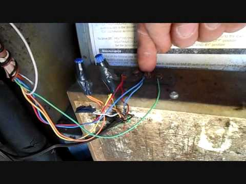 wiring the honeywell focuspro 5000 and replacing a contactor youtube honeywell burner control wiring the honeywell focuspro 5000 and replacing a contactor