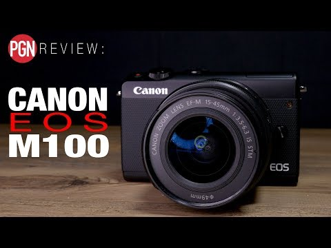 CANON EOS M100 REVIEW: A pared back, entry-level mirrorless camera