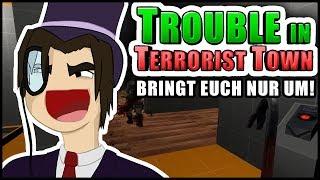 Ich ÜBERWACHE euch! | Trouble in Terrorist Town! - TTT | Zombey