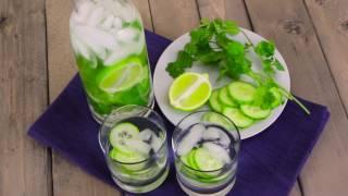 Twelve infused water recipes
