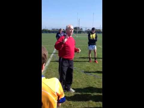 Pat o Shea (Kerry )coaching session at treasure island sanf