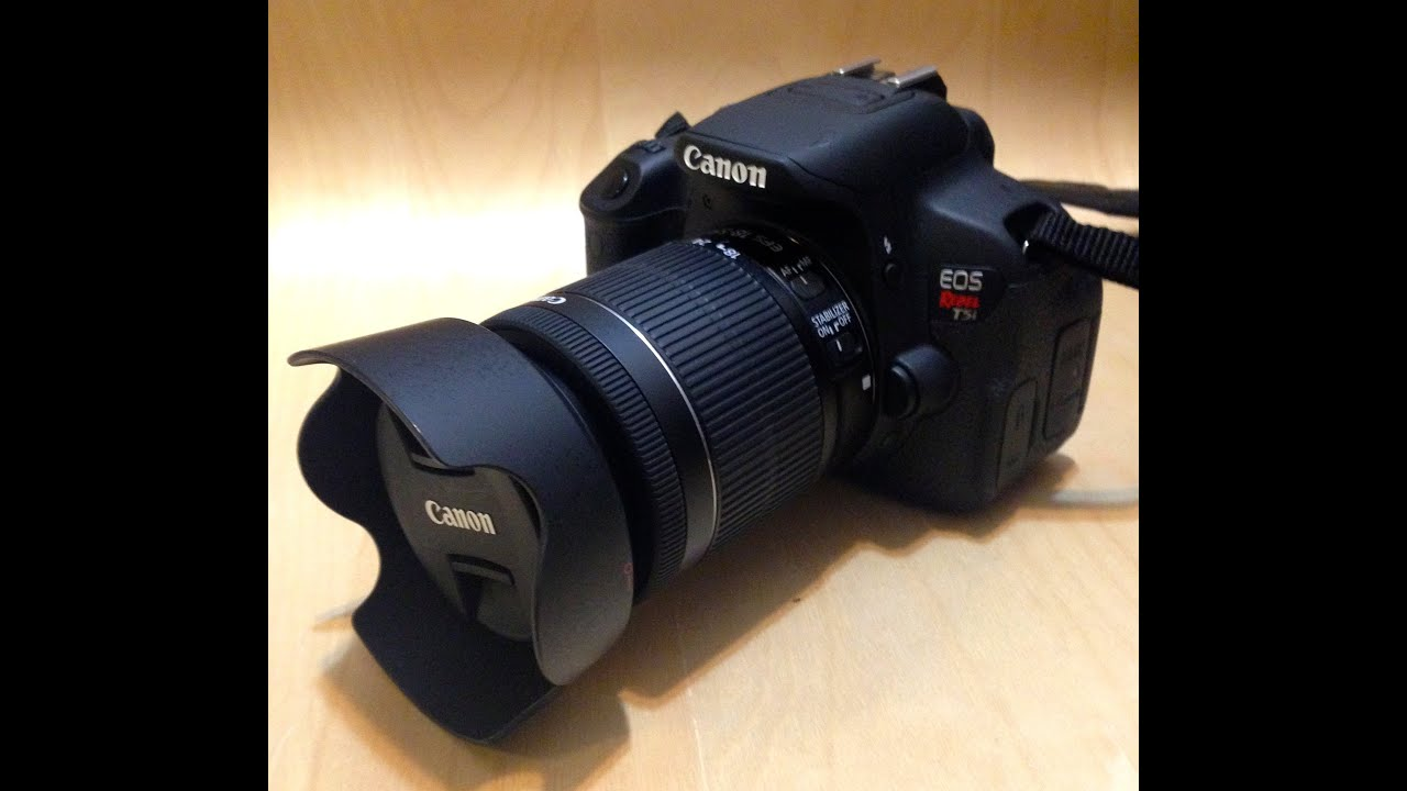 Canon Rebel T5i Unboxing (Canon Refurbished)