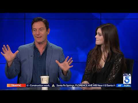 Jason Isaacs & India Eisley on their New Thriller