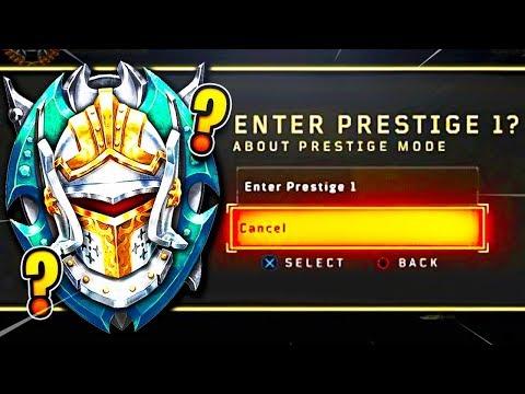 Black Ops 4 - Prestige 1...(What Happens When You Prestige?!)