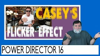 Casey Neistat Flicker Effect | PowerDirector Tutorial