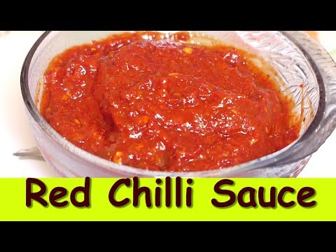 How to make basic chili sauce at home red