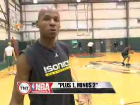 NBA TNT Fundamentals with Ray Allen - Jump Shot Clinic