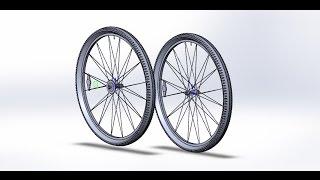 [7]. Велосипед Schwinn Cruiser One (Колеса).(Моделирование колес велосипеда Schwinn Cruiser One., 2016-05-15T15:18:44.000Z)