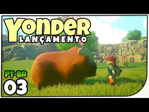 Pesca e Vila dos Alfaiate #03 - Yonder: The Cloud Catcher Chronicles - Gameplay em Português PT-BR