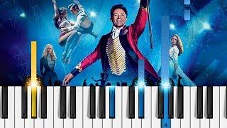 The Greatest Showman - A Million Dreams - Piano Tutorial - The Greatest Showman soundtrack