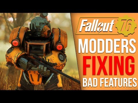 Modders are Fixing Some of Fallout 76's Most Frustrating Features thumbnail