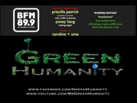 Priscilla Patrick's 2004 asian tsunami + Poesy Liang on BFM Evening Edition