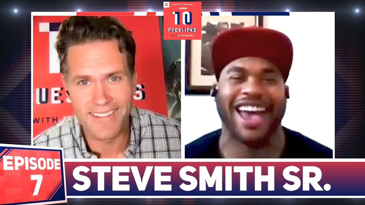 Can Cam Newton and Bill Belichick Win a Super Bowl Together? | Steve Smith Sr. Plays '10 Questions'