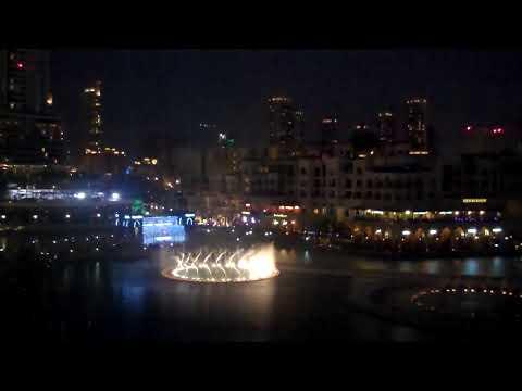 Dubai Festival of Lights, inauguration at Downtown Dubai