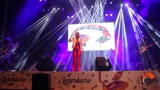 Actuación de Chenoa en Los Palomos 2017