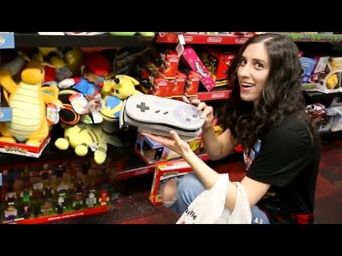 HUGE Holiday Gaming Toys Haul for Charity @ GameStop! - JustJesss