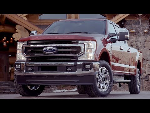 2020 Ford F-250 Super Duty King Ranch   Driving, Interior, Exterior