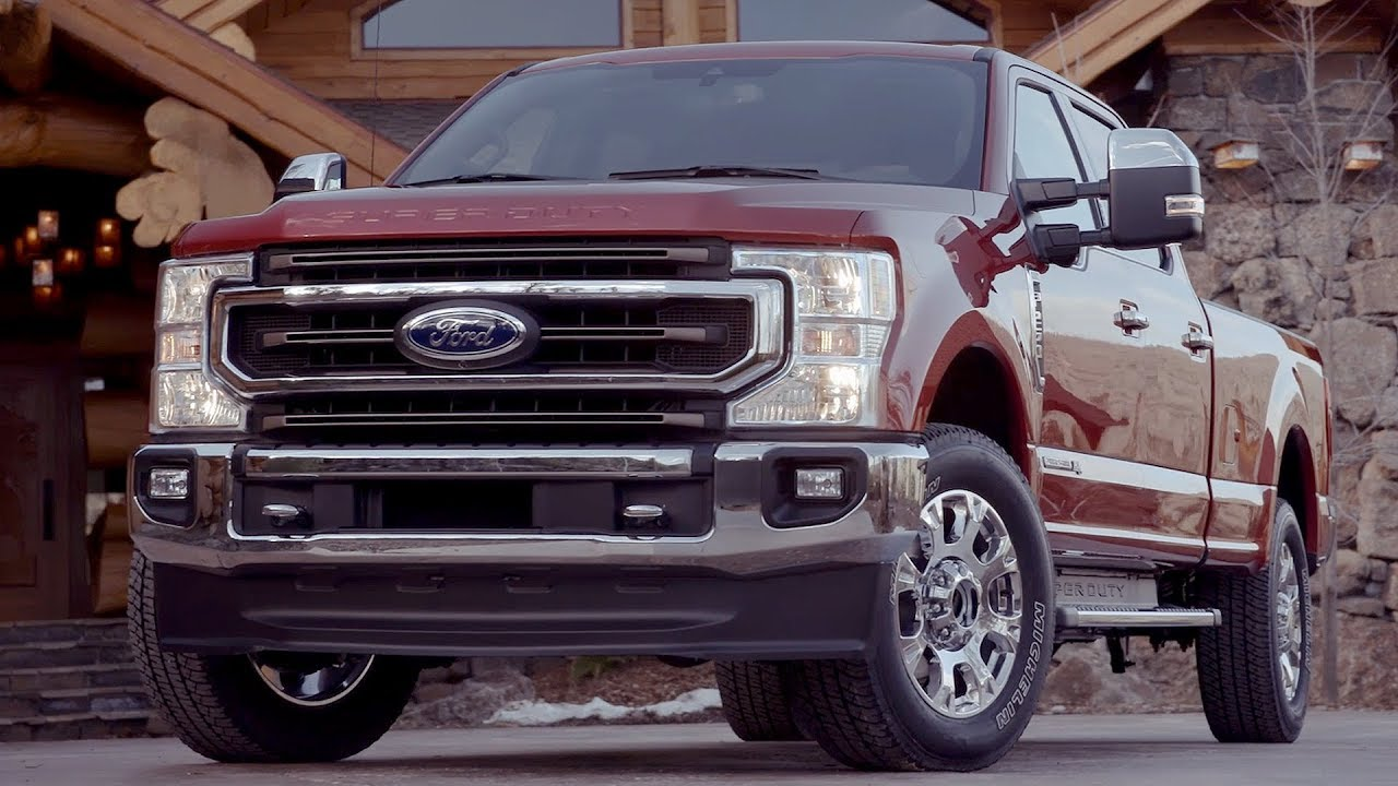 2020 Ford F-250 Super Duty King Ranch | Driving, Interior ...