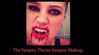 The Vampire Diaries Inspired Halloween Makeup Tutorial Thumbnail