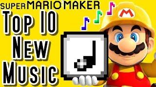 Super Mario Maker TOP 10 New MUSIC COURSES (Wii U)