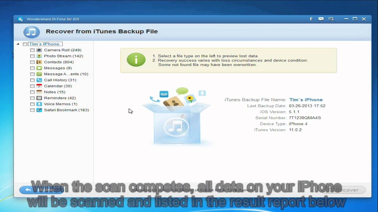 How to Extract iPad Backup - YouTube