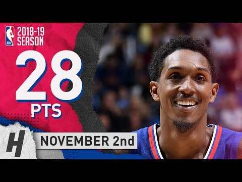Lou Williams Full Highlights Clippers vs Magic 2018.11.02 - 28 Pts, 3 Ast, 3 Rebounds!