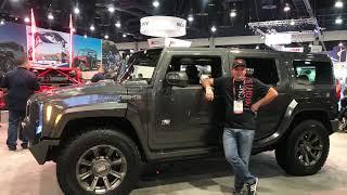 Возвращение легенды! Концепт Hummer H2S . Команда Шеви Плюс на выставке Sema Show 2018
