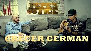 CRECER GERMAN EN PEPE'S OFFICE