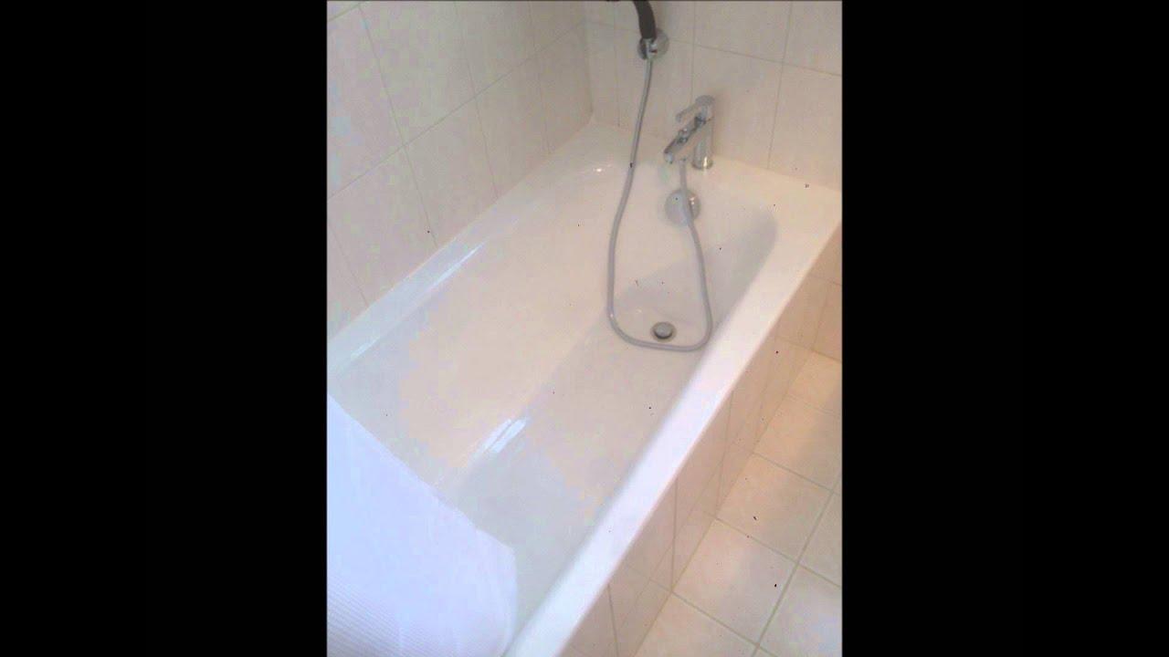 relooking baignoire résinence, plafond laque tendue www.ms ... - Repeindre Une Baignoire Avec Resinence