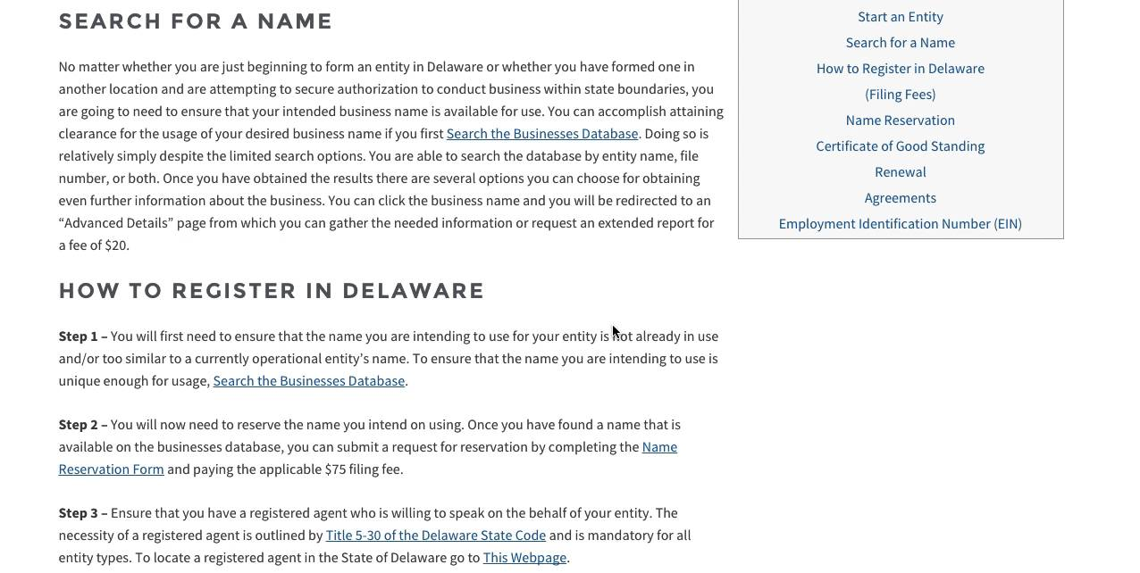 How to start a business in delaware de division of corporations how to start a business in delaware de division of corporations xflitez Gallery