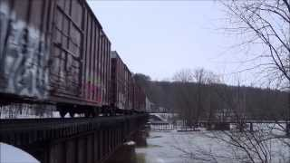 Ep. 280: D801, Z151 & Q383 Reroute! West Michigan Trains Jan 11, 2014