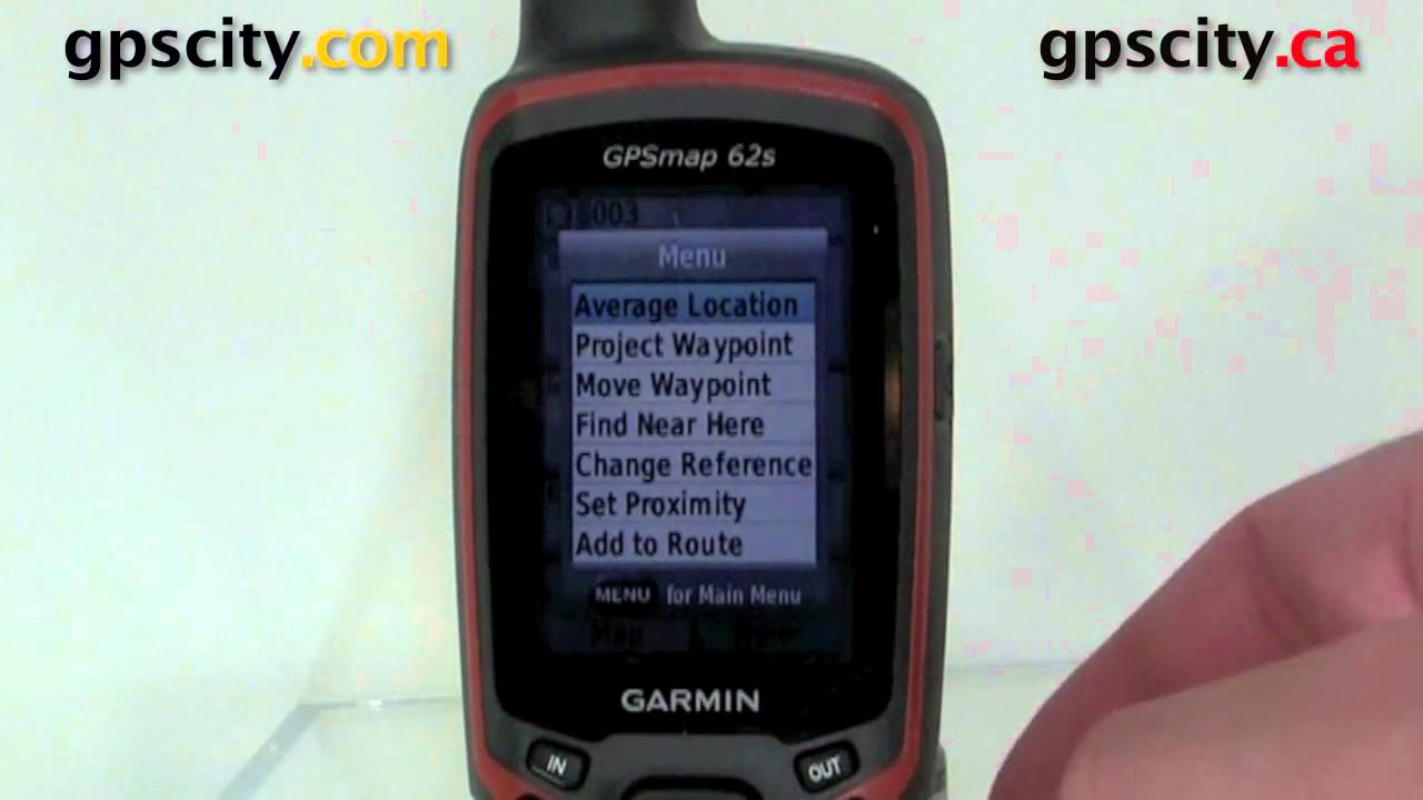 waypoints on the garmin gpsmap 62s with gpscity youtube rh youtube com garmin gpsmap 62 user guide garmin gpsmap 62s owner's manual