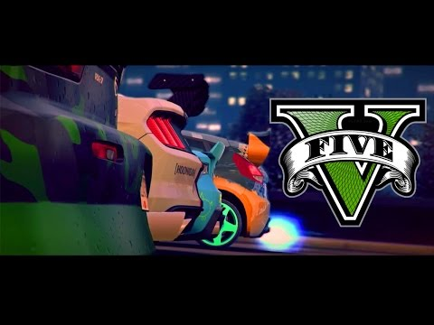GTA V Need For Speed No Limits - Official Trailer Remake PS4