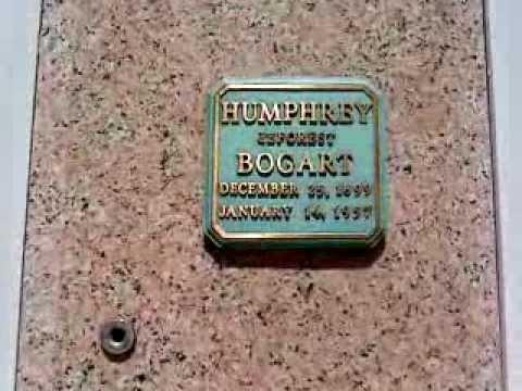 Humphrey Bogart's Grave - YouTube Lauren Bacall Grave