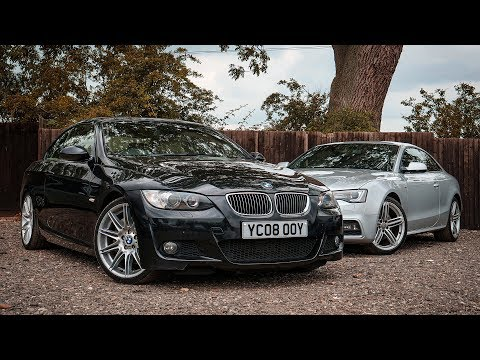 BMW 330d vs Audi A5 3.0d - DRAGY RACE