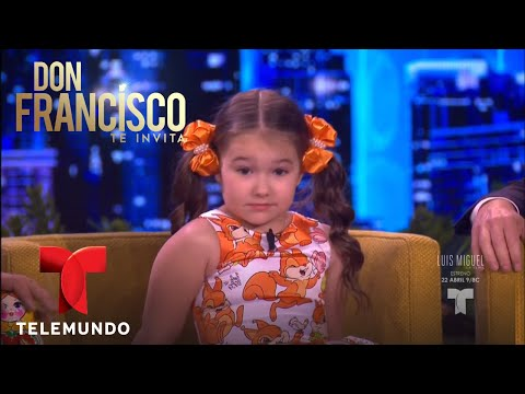 Niña rusa de 5 años habla 8 idiomas | Don Francisco Te Invita | Entretenimiento