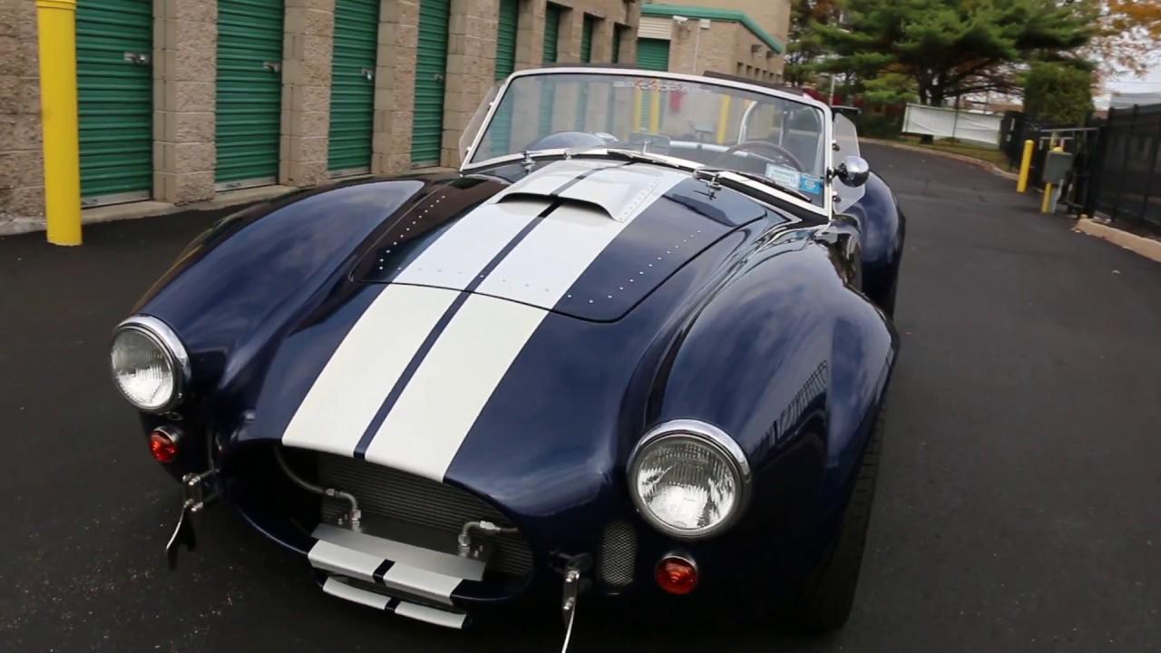 1965 shelby cobra by backdraft racing for sale