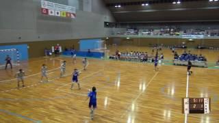 5日 ハンドボール女子 国体記念体育館 Dコート いわき総合×日川 1回戦 1