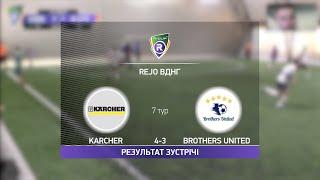 Обзор матча Karcher 4 3 Brothers United Турнир по мини футболу в Киеве