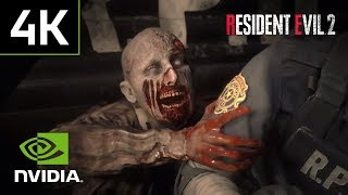 Resident Evil 2 Remake – EXCLUSIVE PC Gameplay REVEAL 4K 60fps