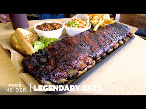 The Best Ribs In Kansas Are Cooked And Served In A Gas Station | Legendary Eats