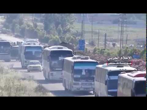 Last Batch of Islamist Terrorists & Their Families Leaves Homs to North Syria