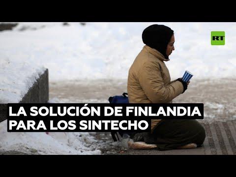 La solución finlandesa para que no haya personas sin hogar