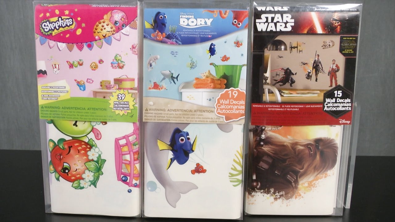 shopkins star wars finding dory wall decals from york wall shopkins star wars finding dory wall decals from york wall coverings