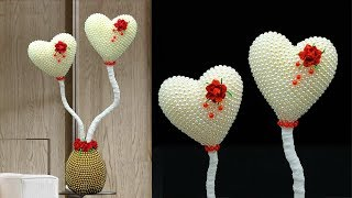 Heart Showpiece || Home Decor || How to Make Easy Heart Showpiece