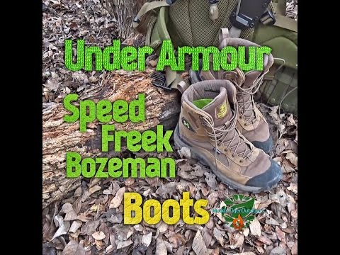 Under Armour Speed Freek Bozeman Boots - MuddyTigerOutdoors - YouTube 568bc2f2d3